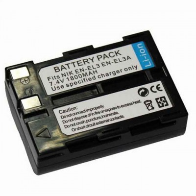 Литий - ионный аккумулятор для Nikon EN-EL3 1800mAh.
