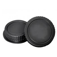 Задняя крышка для объектива и крышка байонета Canon mount