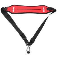 Универсальный красный плечевой ремень для фотоаппарата