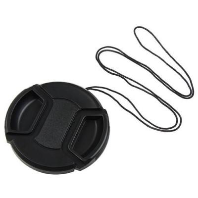 Защитная крышка для объектива Canon Nikon Pentax Sony с диаметром 55 мм