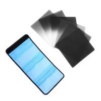 Набор из 6 градиенных и нейтральной плотности фильтров  для Cokin