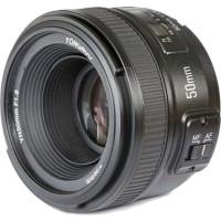 Объектив Yongnuo YN 50mm f1.8 на Nikon