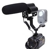 V-образное металлическое крепление для фотоаппарата или видеокамеры