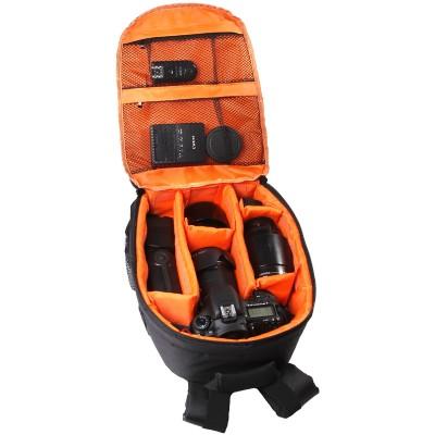 Рюкзак для фототехники DSLR, цвет черный