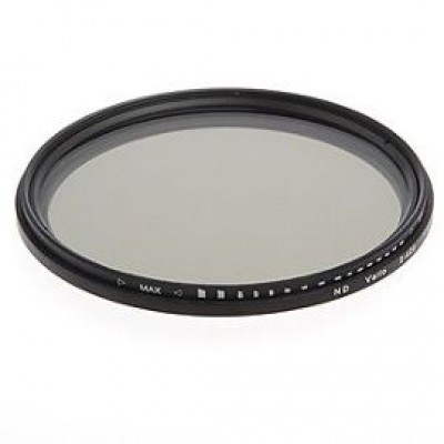 Фильтр Variable Fader ND2-400 (Neutral Density) для объектива с резьбой 58 мм