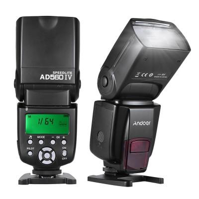 Внешняя вспышка  Andoer AD560-IV для Canon Nikon Pentax Olympus